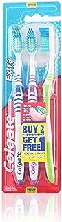 Colgate Extra Clean Tandenborstel Medium pak van 2 + 1