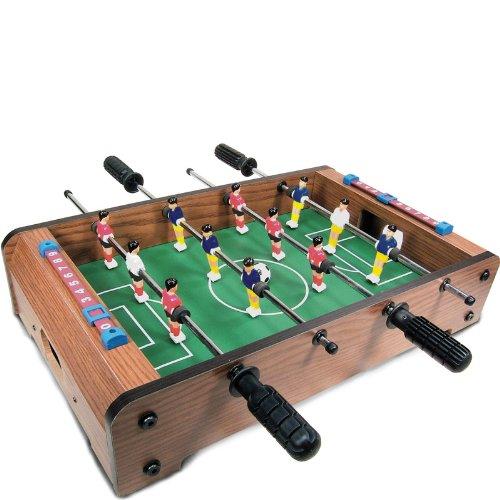 Tobar – 10698 – Futbolín de Mesa de Madera: Amazon.es: Juguetes y ...