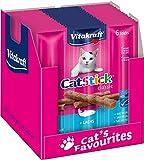 Vitakraft Cat-Stick Mini Saumon - Lot de 60 sticks (10 sachets de 6 sticks)