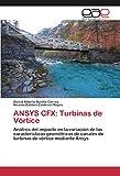 ANSYS CFX: Turbinas de Vórtice: Análisis del impacto en la variación de las características geométricas de canales de turbinas de vórtice mediante Ansys