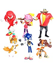Sonic Toys The Hedgehog figures Shadow Tails Characters action figure dolls 6pcs