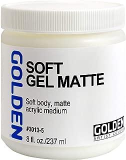 Golden Soft Matte Gel Medium-8 ounce