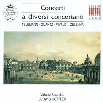 Baroque Concertos - Georg Philipp Telemann/Johann Joachim Quantz / Antonio Vivaldi / Jan Dismas Zelenka (Guttler)
