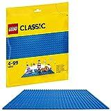 Classic (10714) - Base Azul de Juguete de Construcción de 25 cm de Lado para Juegos Creativos y Educativos como Complemento a tus Sets