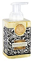 Breathe in the classic scent of honey almond 17.8-ounces of shea butter and aloe vera gently cleanse and moisturize, leaving skin soft and fresh Foaming hand soap gets hands extra clean; reduces waste, each pump creates luxurious lather Combine with ...