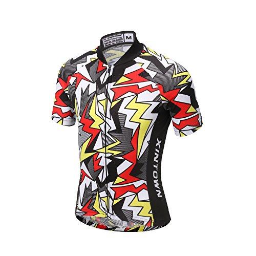LSERVER Niños Maillot de Ciclismo Camiseta de Manga Corta Transpirable y Secado...
