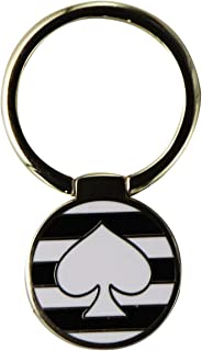 Kate Spade New York Universal Ring Stand - Black / White Stripes w/ Spade