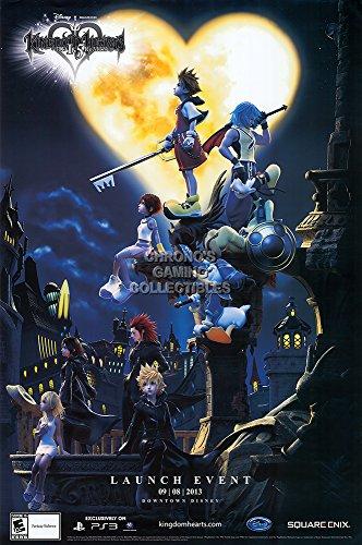 PrimePoster - Kingdom Heart Original Promotional Art Poster Glossy Finish Made in USA- YEXT677 (24' x 36' (61cm x 91.5cm))