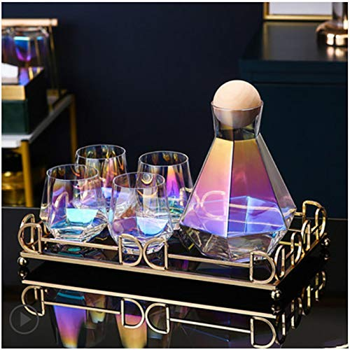 'N/A' Juego De Cristalería Agua Transparente Cerveza Jugo Té Helado Bebida Cáliz Vaso Taza De Agua Taza De Agua Y Taza De Whisky Bebidas Mixtas(Size:UN)
