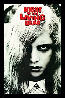 Night of the Living Dead Iconic Girl Movie Poster - Officially Licensed