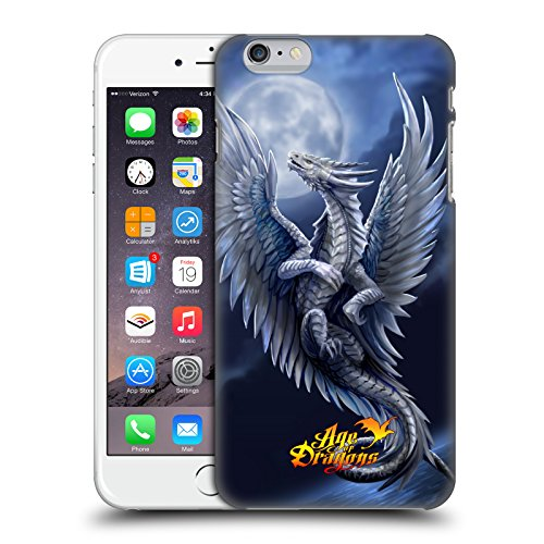 Head Case Designs Oficial Anne Stokes Plata Edad de los Dragones Carcasa rígida Compatible con Apple iPhone 6 Plus/iPhone 6s Plus