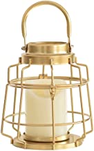 ZLBYB Golden Iron Tea Candle Holder, Suitable for Wedding Top Decoration, Home Table Decoration