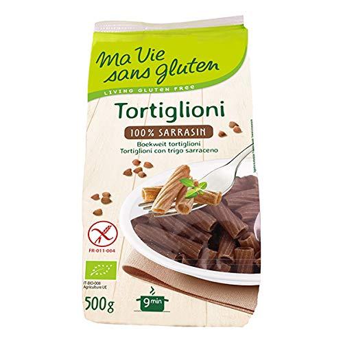 Ma Vie Sans Gluten - Pâtes Tortiglioni au Sarrasin 500g - Lot De Lot De 3 - Vendu Par Lot - Livraison Gratuite En France