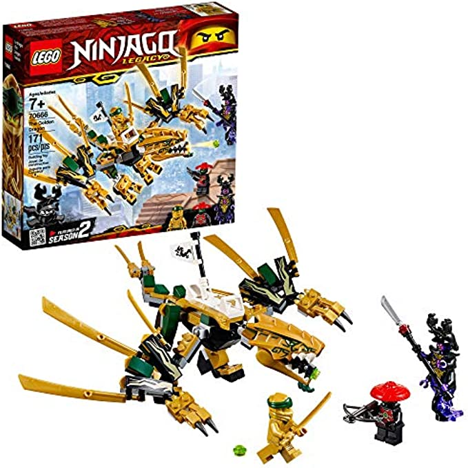 LEGO NINJAGO דרקון הזהב 70666