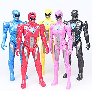 Action Figure Christmas Gifts Doll Toys 5PCS/Lot Power Ranger with The joint can move the toy