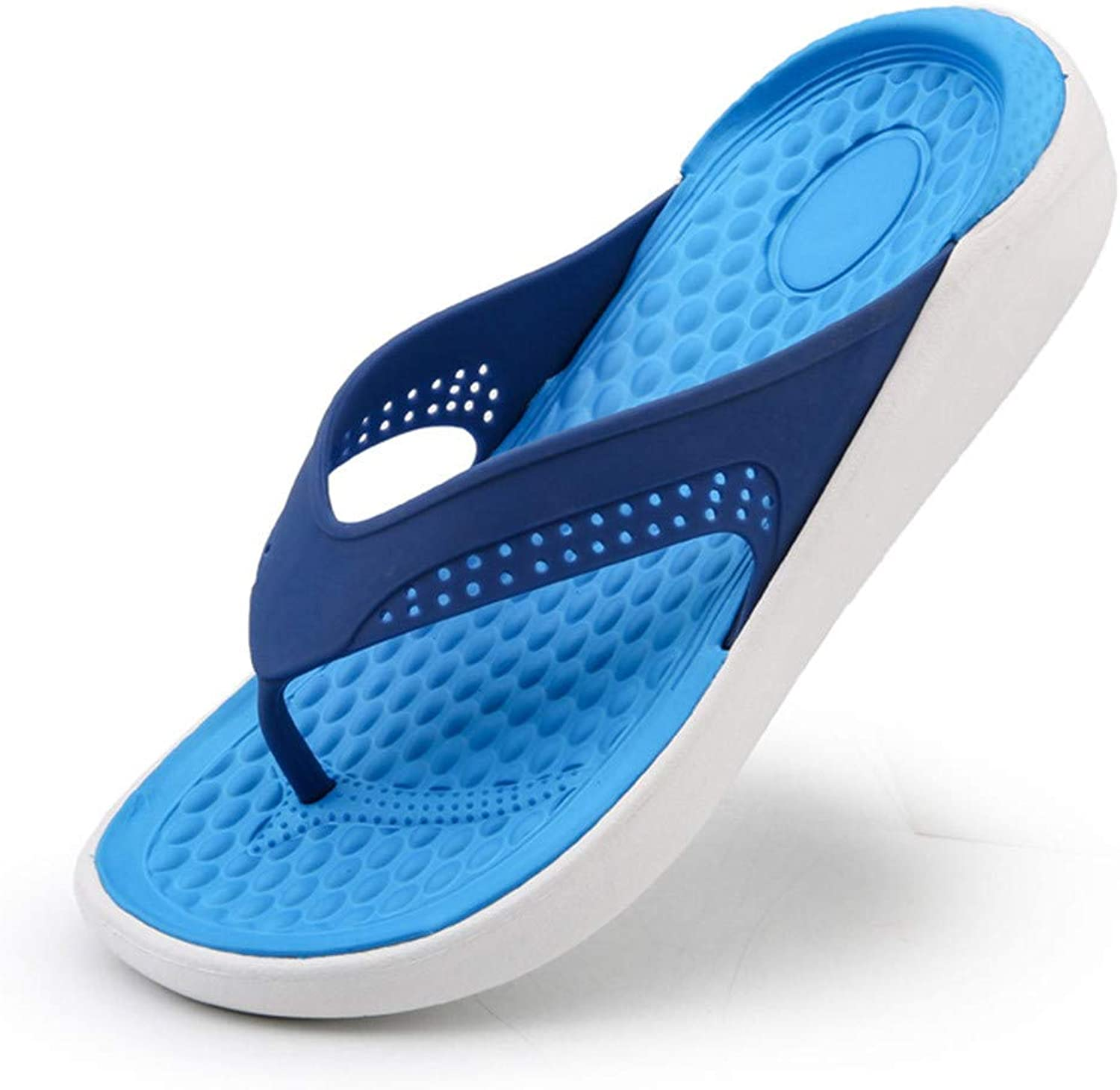 Mens Beach Sandals Hollow Out Casual Breathable Flip Flop Slippers Flats shoes
