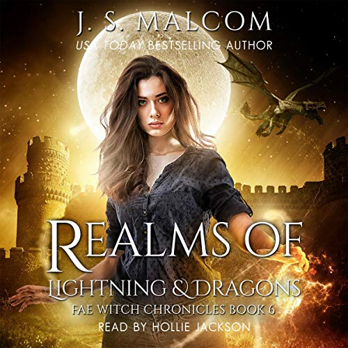 Couverture de Realms of Lightning & Dragons