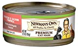 Newman's Own Organics Chicken & Salmon Formula For Cats, 5.5-Ounce Cans (Pack Of 24)