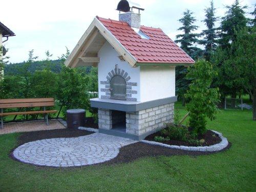 Holzbackofen Pizzaofen Grill Steinofen Bauanleitung Bauplan mit Plänen vom Architekten