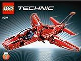 LEGO Technic - 9394 - Jeu de Construction - L'Avion Supersonique
