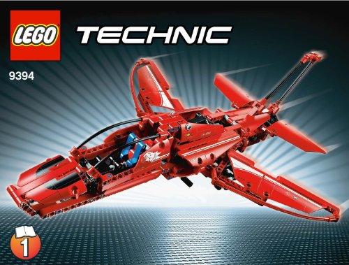 LEGO Technic 9394 - Avión a Reacción