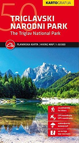 Triglavski Narodni Park (Julian Alps): The Triglav National Park. Planinska Karta / Hiking Map 1 : 50 000