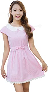 Women's Fresh Doll Collar Short Sleeve Dress