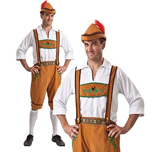 Halloween German Oktoberfest Kleidung Männer Und Frauen Bier Kleidung Straps Paar Leistung Kleidung Adult Maid Wear,Male