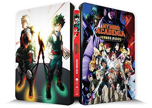 My Hero Academia: Heroes Rising Steelbook Combo DVD/Blu-ray [Blu-ray]