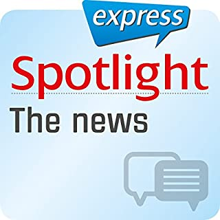 Spotlight express - Kommunikation: Wortschatz-Training Englisch - Die Nachrichten Titelbild
