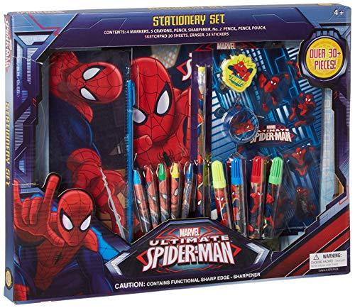 UPD Marvel The Amazing Spider-Man 30Piece Stationery Set - School Supplies