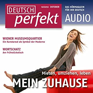 Deutsch perfekt Audio - Mein Zuhause. 10/2012 cover art