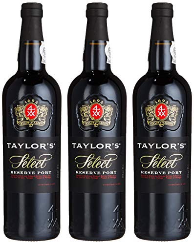 Taylor's Port Ruby Select Reserve 2014/2017  (3 x 0.75 l)
