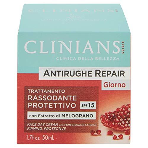 Clinians Antirughe Repair Crema Giorno per il Viso, 50ml