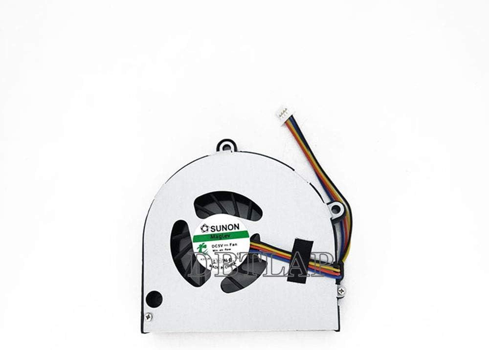 DBTLAP Ventilador de la CPU del Ordenador portátil para Toshiba Satellite P850 P855D P840 P845T Ventilador