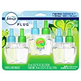 Febreze Plug in Air Freshener and Odor Eliminator, Scented Oil Refill, Gain Original Scent, 3 Count