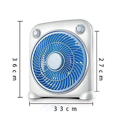 Ventilador-de-Mesa-Silencioso-de-10-con-3-Niveles-de-Velocidad-Ventilador-y-Temporizador-Ventilador-de-Enfriamiento-40-W-Adecuado-para-Oficina-Sala-de-Estar-Loft-BalcnAzul