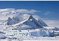 新しい南極大陸の背景7x5ft冬の雪の山の写真の背景海の氷結南極旅行したシュート遠征雪の山の荒野の写真アドベンチャーアクティビティの背景小道具
