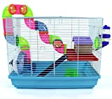 Easipet Small Pet Cage for Syrian Dwarf Hamster, Gerbil, Mouse