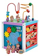 From the hugely successful and loved show In the Night Garden Has 5 different sides full of fun actvities Helps promote learning and co-ordination skills whilst playing and having fun. With multiple activities, it also promotes playing together and s...