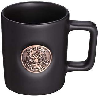 STARBUCKS スターバックス スタバ マグカップ デミタスカップ 食器 女神 ロゴ コップ mini エスプレッソ ドッピオ(ドピオ)コーヒー 黒 ブラック 艶消し マット