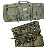 Greencity 32Inch Double Long Rifle Bag Water Dust Resistant Long Gun...