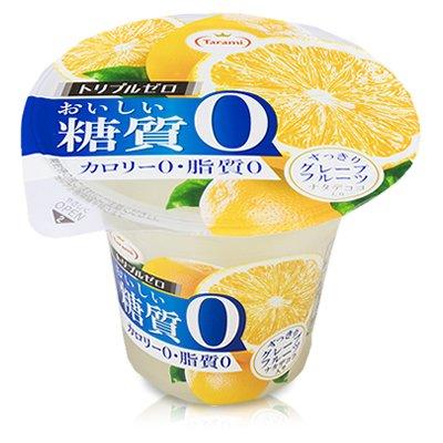 たらみトリプルゼロおいしい糖質0グレープフルーツ195g×6個