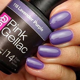 Pink Gellac Lavender Purple 15ml Gel Nail Polish by Pink Gellac