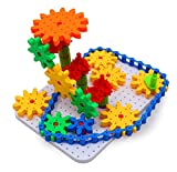 Bo-Toys Deluxe Gears Building Set, Learning Blocks , Spinning Gears, 170 pcs