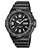 Casio Collection Herren-Armbanduhr MRW 200H 1B2VEF, schwarz/Schwarz
