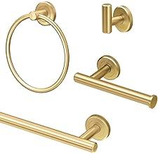 Gatco KA-LAT-4-BB Latitude2 4-Piece Bathroom Accessory Kit Brushed Brass