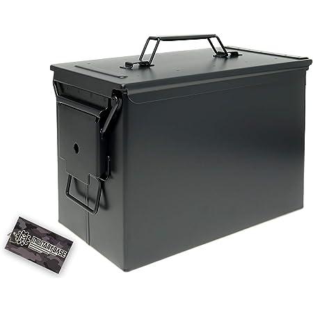 Fat .50タイプ SAW アンモボックス ブラック 3.3kg [325mm×188mm×228mm] …