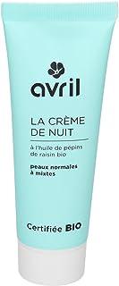 Avril Crema per Viso Biologica Notte - 50 Ml