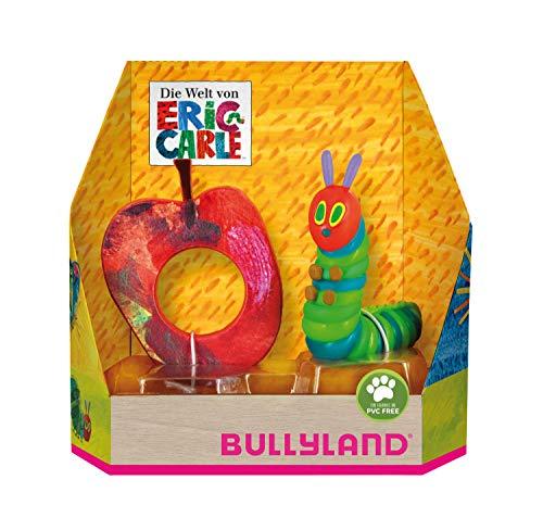 Bullyland 41526 - Spielfigur, Raupe Nimmersatt stehend, ca. 7,5 cm groß, liebevoll handbemalte Figur, PVC-frei, tolles Geschenk für Jungen und Mädchen zum fantasievollen Spielen